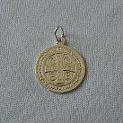 Medalik srebrny św. Benedykta mały