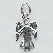 Zawieszka Aniołek srebrny