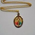 Medalik pozłacany Jezus Miłosierny