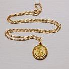 Medalik pozłacany święty Jan Paweł II okrągły