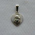 Medalik srebrny Matka Boska z Dzieciątkiem