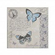 Serwetka dekoracyjna Motyle