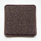 Poduszka na ławkę w kolorze ciemny brąz matylda 733