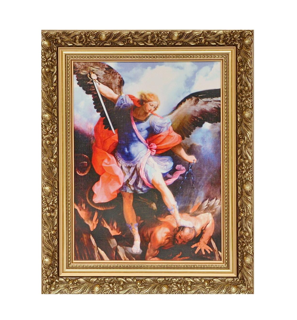 W superbly Obrazek w ramce św. Michał Archanioł - św. Michał Archanioł WH98