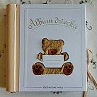 Album Dla Dziecka z Pluszowym Misiem
