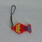 Zawieszka do komórki, rybka czerwona