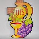 Emblemat na Boże Ciało Winogrona