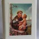 Pudełko na różaniec św. Antoni