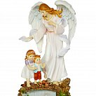 Figurka Anioł Stróż z dziećmi 30 cm