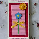 Karnet Pierwsze urodziny dla dziewczynki