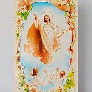 Karnet DL Wielkanoc z życzeniami - mix wzorów