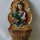 Kropielniczka z tworzywa św. Józef