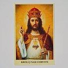 Obrazek do książeczki Chrystus Król Wszechświata
