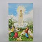 Obrazek do książeczki z Matką Boską Fatimską