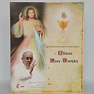 Obrazek do Pierwszej Komunii Świętej z papieżem Franciszkiem