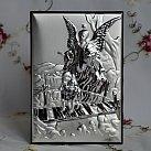 Obrazek srebrny ANIOŁEK NA KŁADCE
