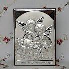Obrazek srebrny ANIOŁY nad Dzieckiem 13x18