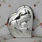 Obrazek srebrny MATKA BOSKA Z DZIECIĄTKIEM