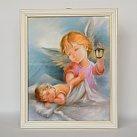 Anioł Stróż w Białej Ramce z Latarenką