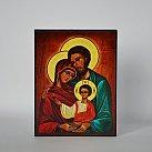 Obrazek z ikoną Świętej Rodziny