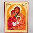 Ikona święta Rodzina 18x23
