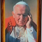 Obrazek w ramce (duży) Jan Paweł II