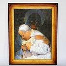 Obraz Jan Paweł II w objęciach Maryi 50x70 cm