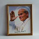 Obrazek w ramce świety Jan Paweł II