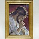 Obrazek w drewnianej ramce Jezus Chrystus