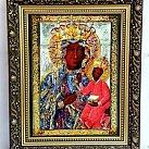 Obraz Matka Boska Częstochowska (ozdobna rama)
