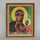 Obrazek Matka Boska Częstochowska w ozdobnej ramce