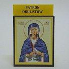 Ikona św. Łucja patronka okulistów