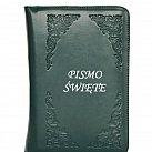 Pismo św. Biblia Tysiąclecia mała - paginowana zielona