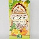 Herbata Leśniowska zielona z cytryną