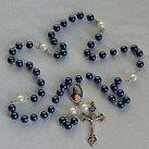 Różaniec ze świętym Janem Pawłem Niebieski