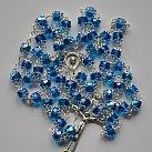 Różaniec kryształkowy niebieski