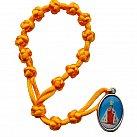 Koronka do Dzieciątka Jezus sznurek żółta