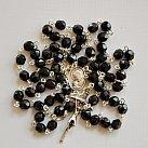 Różaniec kryształkowy czarny