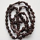 Różaniec sznurkowy brązowy sznurkowy krzyżyk