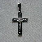 Krzyżyk srebrny wzór 1