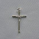 Krzyżyk srebrny wzór 12
