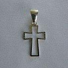 Krzyżyk srebrny wzór 15