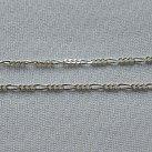 Łańcuszek srebrny wzór figaro 60 cm