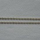 Łańcuszek srebrny ozdobny 50 cm