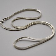 Łańcuszek srebrny gruby 50 cm