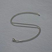 Łańcuszek srebrny pancerka 60