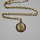 Medalik pozłacany święty Jan Paweł II