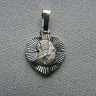 Medalik srebrny diamentowany wzór 3