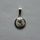 Medalik srebrny diamentowany wzór 6
