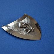 Ryngraf srebrny Matka Boska z Dzieciątkiem